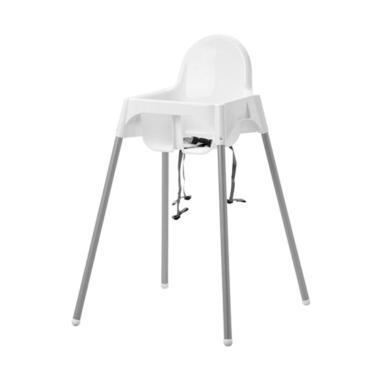 Ikea Antilop Baby Chair Kursi Makan Anak - Putih [1 pcs]