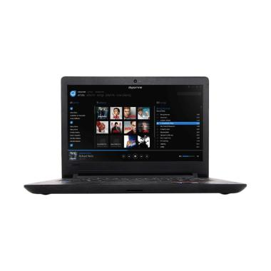 Laptop Lenovo Ideapad 110-AKID Note ... / WINDOWS 10] Warna HITAM