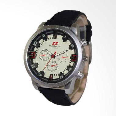 Swiss Army Jam Tangan Pria - Hitam [SAX 1298-02]