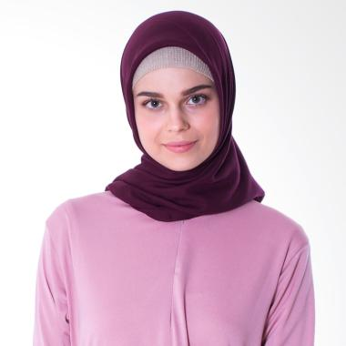 Elzatta Keiva Vabia Jilbab Segiempat - Maroon