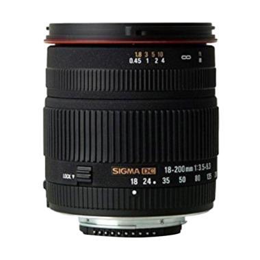 Sigma for Nikon 18-200mm f/3.5-6.3 DC jpckemang GARANSI RESMI