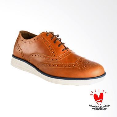 BLANKENHEIM Wingtip Sneaker Kulit S ... own [Pre-Order/ Original]