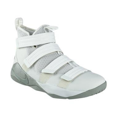 NIKE Men Basketball Lebron Soldier  ...  - White [SFG 897646-005]
