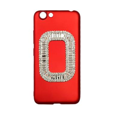OEM Marcell Diamond Casing for VIVO Y53 - Red