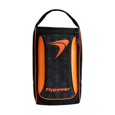 Flypower Calsedon Shoes Bag Tas Sepatu Unisex - Black Orange