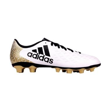 adidas X 16.4 FXG Sepatu Sepakbola Pria - White Gold [Original/AQ4355]