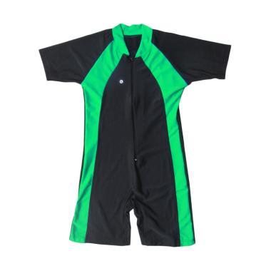 Rainy Collections Baju Renang Diving Polos Anak - Lis Hijau