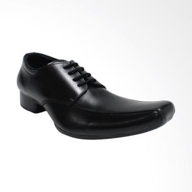 Roffael Sepatu Pantofel Formal Kerja Kantor Pria - Hitam [A3]