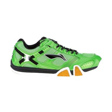 Li-Ning Saga Shine Badminton Shoes  ...  Black [AYTK069/Original]