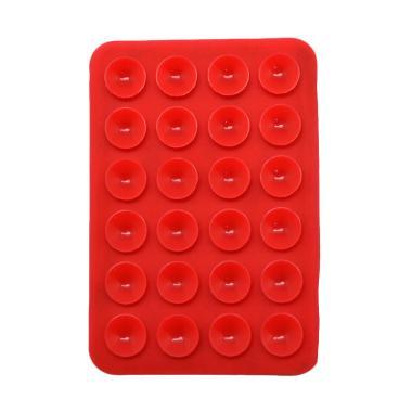 OEM Holder HP Gurita Super Lengket Perekat Handphone - Red