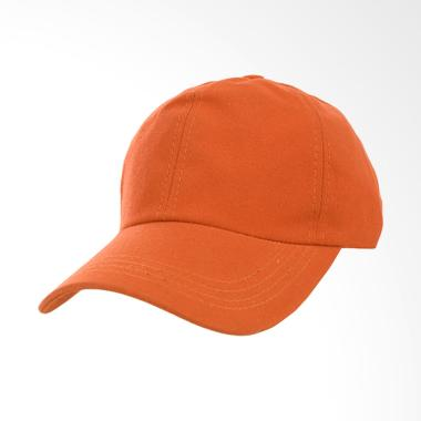 Elfs Shop Polos Canvas Swiding Rel Unisex Topi Baseball - Orange