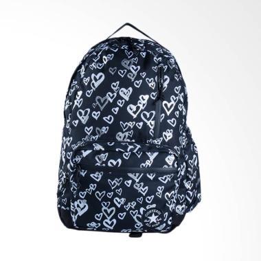 Converse Go Backpack Tas Ransel Pria - Black White [CON6824-A01]