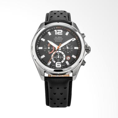 Alba Man Chronograph Jam Jam Tangan Pria - Black [AT3B59X1]
