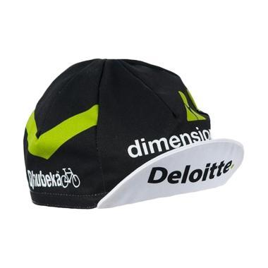 BIORACER Team Dimension Data for Qh ... e Cap Topi Sepeda - Black