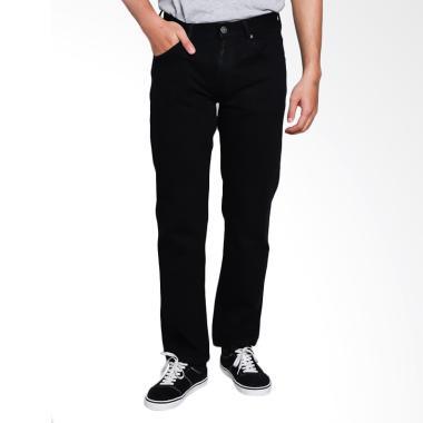 Carvil Panama-Blk Men Jeans Celana Panjang Pria - Black
