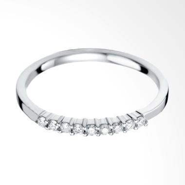 Tiaria Serenity Princess 9 Diamond  ... san Cincin Tunangan [18K]