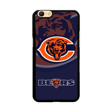 Flazzstore Chicago Bears Logo X3230 Custom Casing for Oppo A57 or A39