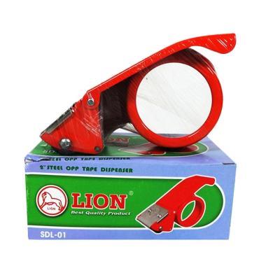 Lion Lakban Dispenser - Merah
