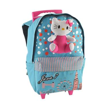 JAVA SEVEN Hello Kitty Roda Backpac ... ah Anak Perempuan - Tosca