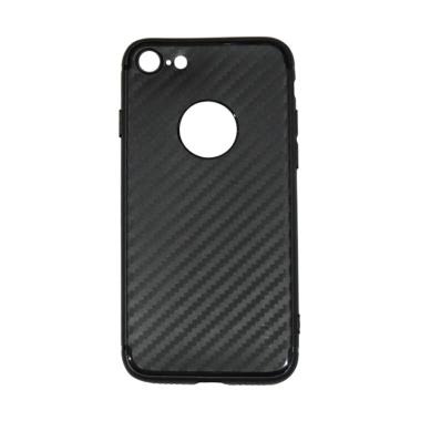 Lize Carbon iPhone 7 Case Slim Blac ... thin / Jelly Case - Black