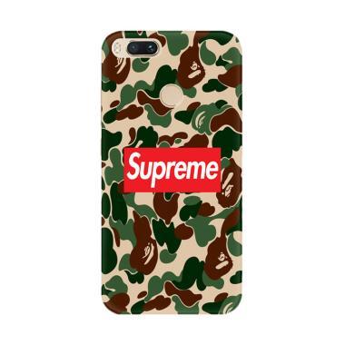 Flazzstore Supreme X Bape X4902 Cus ... omi Mi A1 or Xiaomi Mi 5X