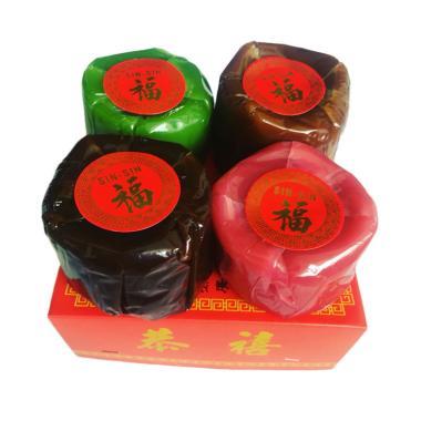 Orange's Kue Keranjang Imlek Alami Sehat [4 pcs/ 1 kg/ Warna]
