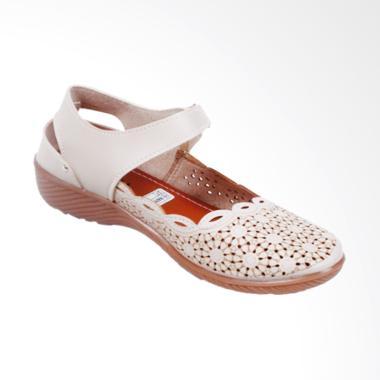Kickers My13 Laser Sepatu Wedges Wanita - Cream