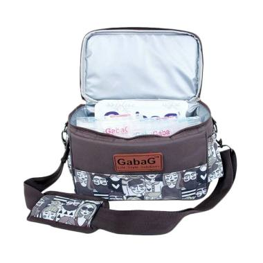 Gabag Single Sling Series People Cooler Bag Tas Bayi - Coklat