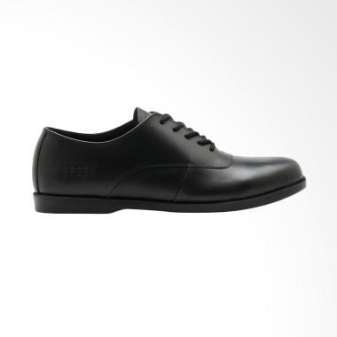 Brodo Natuna Sepatu Pria - Full Black