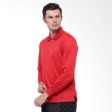 Hitscore Kaos Polo Shirt Unisex - Red