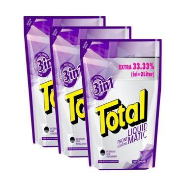 Total Deterjen TMFL Matic Front Loading Pembersih Pakaian [2 L/3 pcs]