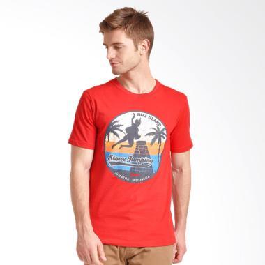 Hammer T-Shirt Pria - Red [1TG071]