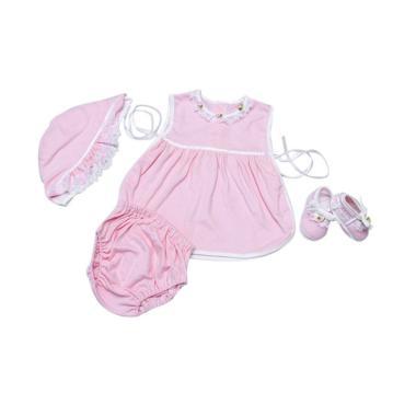 Baby Pink Newborn Babydoll Set (Pink)