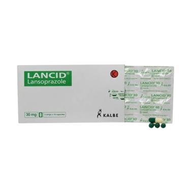 Kalbe Lancid Kapsul Obat Kesehatan [30 Mg/ 10 Tablet-Strip]