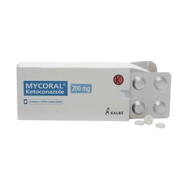 Kalbe Mycoral Tablet Obat Kesehatan [200 mg/ 10 Tablet-strip]