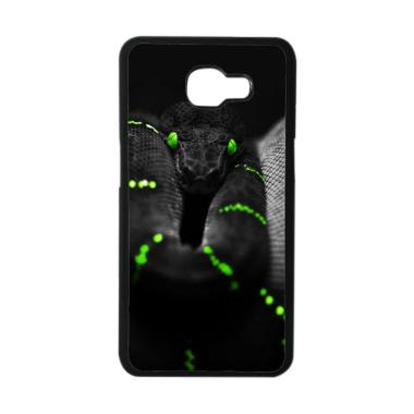 Acc Hp Black Green Snake E1772 Casing for Samsung Galaxy A3 2016