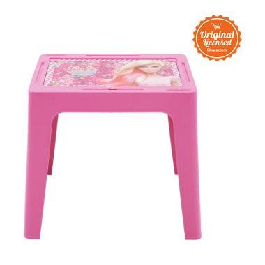 Barbie CL084TB-BRBI-PNK Plastic Table Kids