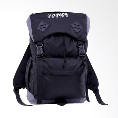 HRCN Outfitters Bag Digger Pria - Hitam [H 6027]