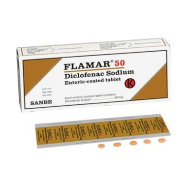 Flamar Tablet [50 Mg/10 Tablet-Strip]