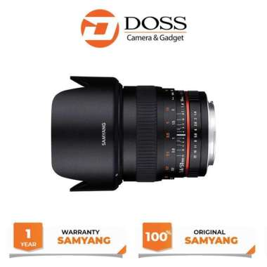 Samyang 50mm F1.4 for Fujifilm X Mount Black