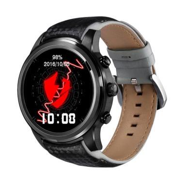 LEMFO LEM5 Smartwatch - Hitam [Android 5.1/ MTK6580]