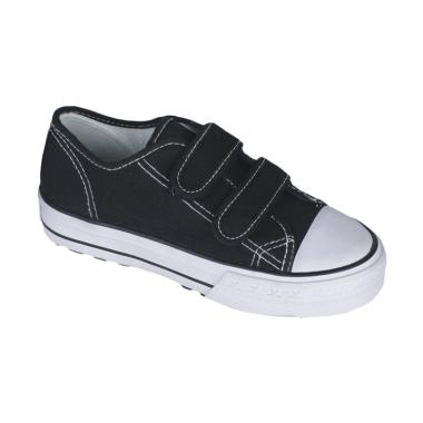 Syaqinah 021 Sepatu Sneakers Anak Laki Laki - Hitam