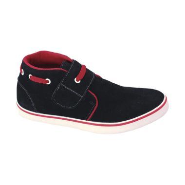 Syaqinah 020 Sepatu Sneakers Anak Laki-Laki - Hitam
