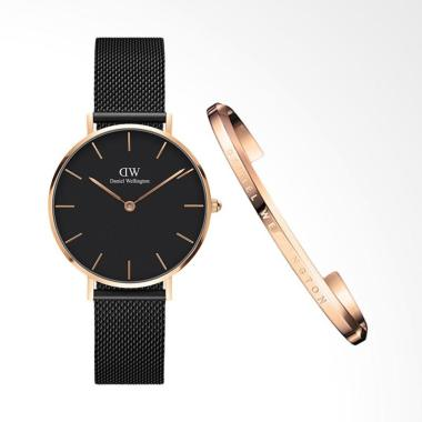 Daniel Wellington Classic Petite As ... m] + Free Cuff Gold Small