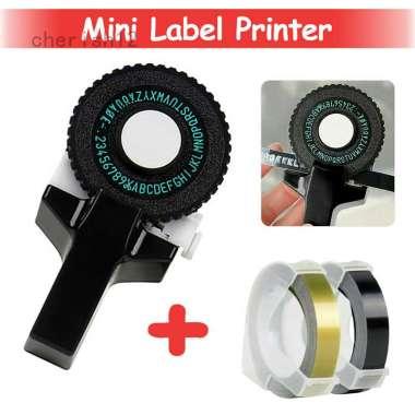 harga Cherish Mesin Printer Label Mini 3d Manual Diy Blibli.com