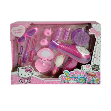 Hello Kitty 0960240050 Beauty Set Rias Hair Dryer Mainan Anak