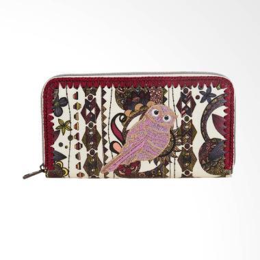 Sakroots Large Wallet Ladies 1000046948 Ivory Spirit Desert