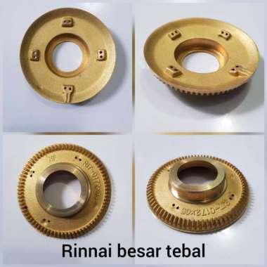 harga Burner Model TEBAL Rinnai Besar - Kanan Kompor Gas (NF) multicolor Blibli.com
