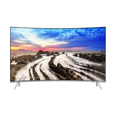 Samsung UA49MU8000KPXD Premium UHD 4K Curved Smart TV LED [49 Inch]