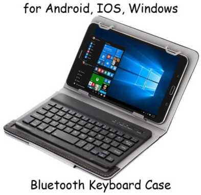 harga Universal Keyboard Bluetooth Tablet 9 10 Inch Android IOS Windows Blibli.com